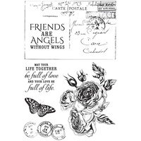 KaiserCraft Clear Stamps Rose Avenue CS311