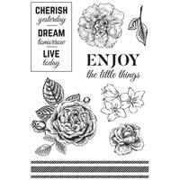 KaiserCraft Clear Stamps Wandering Ivy Collection CS316
