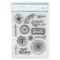 KaiserCraft Clear Stamps Friends CS715