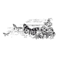 KaiserCraft Clear Stamps Texture Botanical CS795