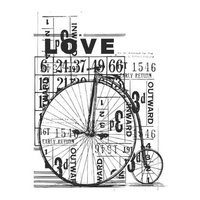 KaiserCraft Clear Stamps Vintage Love CS827
