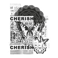 KaiserCraft Clear Stamps Vintage Cherish CS831