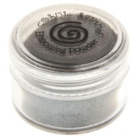 Cosmic Shimmer Brilliant Sparkle Embossing Powder Silver Smoke