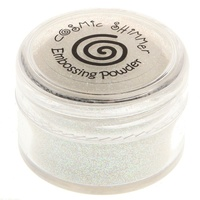 Cosmic Shimmer Brilliant Sparkle Embossing Powder Snowcap