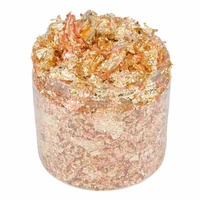Cosmic Shimmer Gilding Flakes 200ml Warm Sunrise