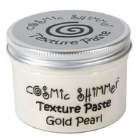 Cosmic Shimmer Texture Paste Gold Pearl 150ml