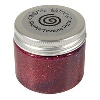 Cosmic Shimmer Sparkle Texture Paste Apple Red 50ml