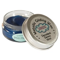 Creative Expressions Metallic Gilding Wax Decadent Denim 10ml