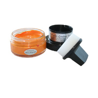 Creative Expressions Metallic Gilding Polish Tangy Tangerine 50ml