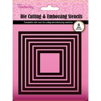 CraftsToo Cutting and Embossing Nesting Dies Squares