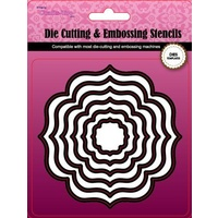 CraftsToo Cutting and Embossing Dies Frames #6