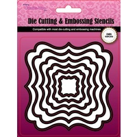 CraftsToo Cutting and Embossing Dies Frames #7