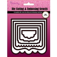 Crafts-Too Cutting and Embossing Nesting Dies Frames 8