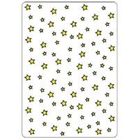 Crafts-Too Embossing Folder Stars 4.25x5.5