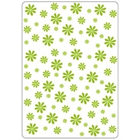 CRAFTSTOO Embossing Folder Daisies 4.25x5.5