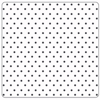 Crafts-Too Embossing Folder Dots 5 x 5