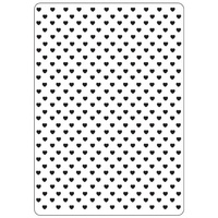 Crafts-Too Embossing Folder Hearts 4.25x5.5