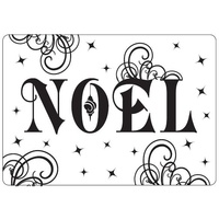 CRAFTSTOO Embossing Folder Noel 4.25x5.5
