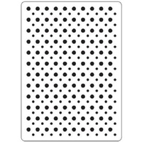 CRAFTSTOO Embossing Folder Spots 4.25x5.5