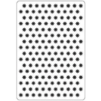 Crafts-Too Embossing Folder Small Flowers 4.25x5.5