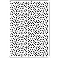 CRAFTSTOO Embossing Folder Polka Dots 4.25x5.5