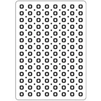 CRAFTSTOO Embossing Folder Spots & Dots 4.25x5.5