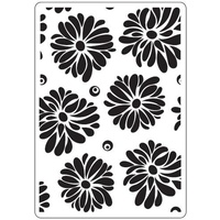 Crafts-Too Embossing Folder Flowers 4.25x5.5