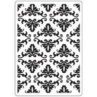 Crafts-Too Embossing Folder Damask 4.25x5.5