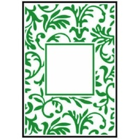 Crafts-Too Embossing Folder Floral Frame 4.25x5.5
