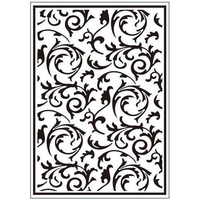 CRAFTSTOO Embossing Folder Scrollworks 4.25x5.5