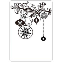 CRAFTSTOO Embossing Folder Christmas Decorations 4.25x5.5