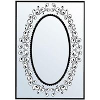 CRAFTSTOO Embossing Folder Oval Frame 4.25x5.5