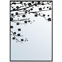Crafts-Too Embossing Folder Cherry Blossom 4.25x5.5