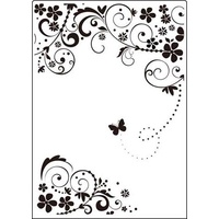Crafts-Too Embossing Folder Summer Days 5x7