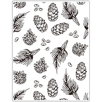 Crafts-Too Embossing Folder Pine 14.6cm x 19cm