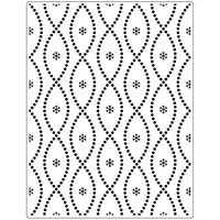 Crafts-Too Embossing Folder Seamless Circle 14.6cm x 19cm