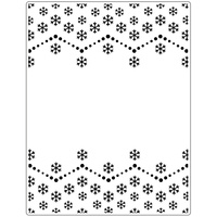 Crafts-Too Embossing Folder Snowflake 14.6cm x 19cm