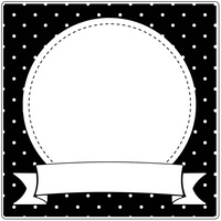 Crafts-Too Embossing Folder Snow Globe 15cm x 15cm