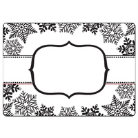 Crafts-Too Embossing Folder Snowflake Banner 4.25x5.5