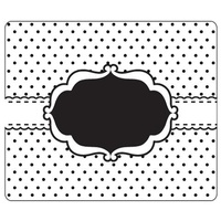CRAFTSTOO Embossing Folder Dotty Frame 12.7cm x 15cm