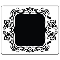 CRAFTSTOO Embossing Folder Fancy Frame 12.7cm x 15cm