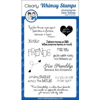 Whimsy Stamps Distant Friends