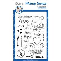 Whimsy Stamps Cute Cupid