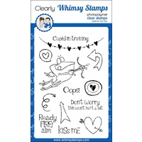Whimsy Stamps Cupid in Training