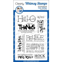 Whimsy Stamps Bold Statements