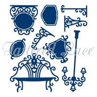Tattered Lace Die - Her Decorative Embellishments D206 FREE SHIPPING