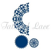 Tattered Lace Die Florentine Over The Edge Set 1 D225