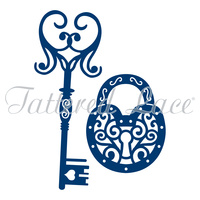 Tattered Lace Die - Lock and Key D233 FREE SHIPPING