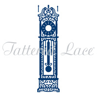 Tattered Lace Die - Grandfather Clock D295 FREE SHIPPING