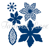Tattered Lace Die - Poinsettia D372 FREE SHIPPING